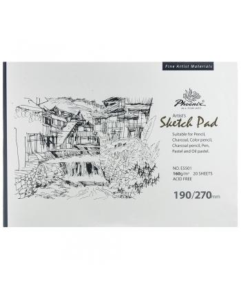 Sketch Pad Phoenix 190X270MM 20 Sheets 160GR E5501