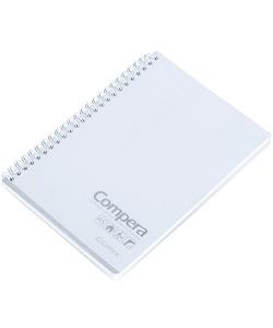 Notebook Comix A5 Ruled 80Sh Pp Spiral Transparent Cpa5801