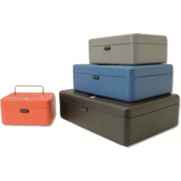 CASH BOX PRACTICAL METAL SS325A 19X25CM