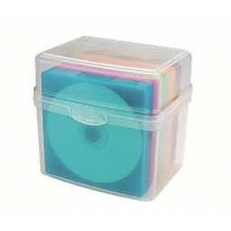 CD SLIM BOX 20 AIDATA CD20SL HOLDS 20 CDS