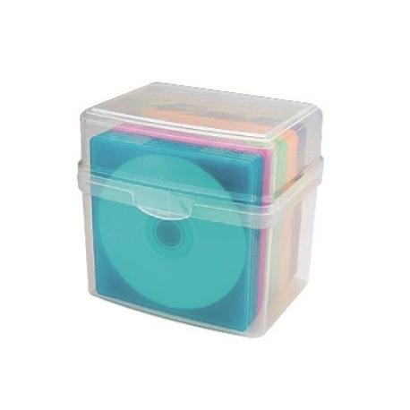 Cd Slim Box 20 Aidata Holds 20 Cds Cd20Sl
