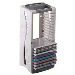 CD TOWER AIDATA CD20T HOLDS 20 CDS
