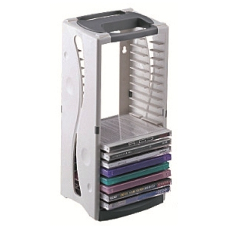 Cd Tower Aidata Holds 20 Cds Cd20T