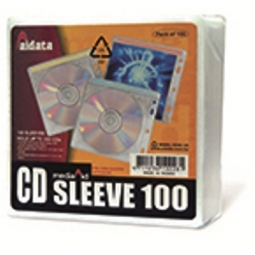 CD SLEEVE AIDATA CD2B-100 HOLDS 100CDS