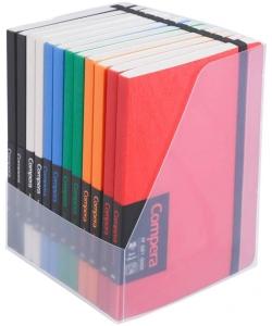 Notebook Comix Compera A6 Ruled 80Sh Pp W/Elastic C7012T