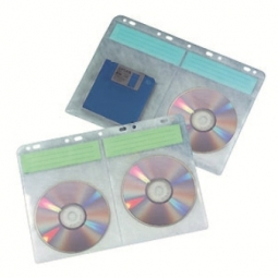 CD BINDER SHEETS AIDATA CD4BS-10 HOLDS 40CDS