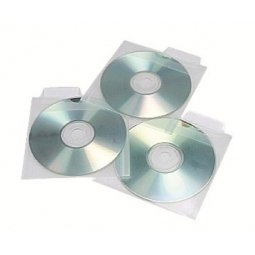 CD POCKET AIDATA CDP1-25 PP 25/PACK CLEAR