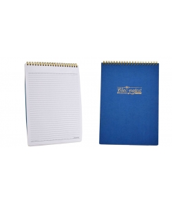 Notebook Mintra B7 Ruled 80Sh Hard Cover Twin Wire White 10802