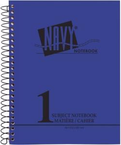 Notebook Mintra A4 Seyes 96Sh Navy 90811