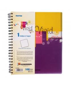 Notebook Mintra 23X27.9 Seyes 1Sub 100Sh Spiral Vivid 93083