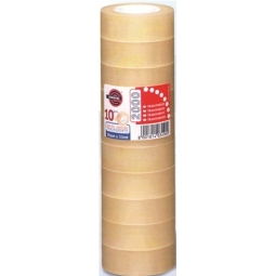 ADHESIVE TAPE EUROCEL 2000 TOWER 19X33M 8PCS 1013