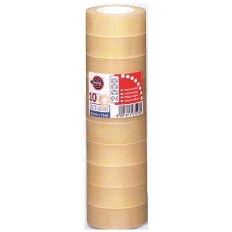 Adhesive Tape Eurocel 2000 Tower 19X33M 8Pcs 1013
