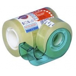 Adhesive Tape Eurocel 19X33M Offer 5 Rolls+Dispenser 1007