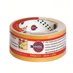 DOUBLE SIDED FILMIC TAPE EUROCEL 50MMX25M PPDA721