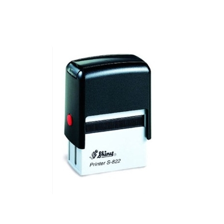 Stamp Shiny S822 38X14Mm Black