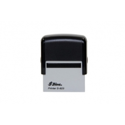 Stamp Shiny S823 47X18Mm Black