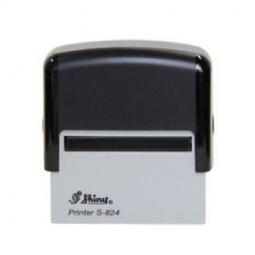 Stamp Shiny S824 58X22Mm Black