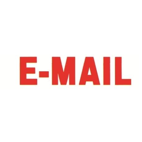 Stamp Shiny Ne-06 Pre-Inked E-Mail