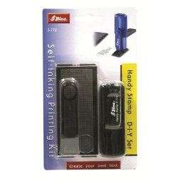 STAMP SHINY S772 PRINTING KIT HANDY ENGLISH BLACK