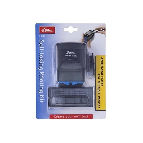 Stamp Shiny S883A Printing Kit Arabic Black