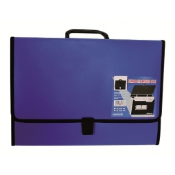 EXPANDING FILE I-BINDER F/C 13 POCKETS W/HANDLE EF-233