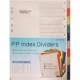 Divider Bindermax A4 Plastic Color 10Tabs T-100