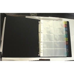 BUSINESS CARD ALBUM REFILL I-BINDER A4 10PCS BCP-206