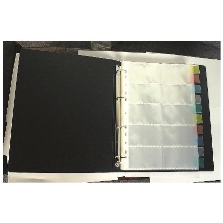Business Card Album Refill Bindermax A4 10Pcs W-5498R