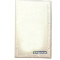 Name Badge I Binder Hard Plastic Vertical Nbh-298