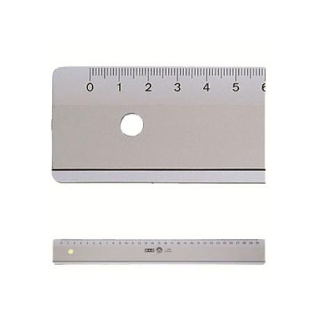Ruler M+R Plastic 20Cm Inking Edge 1020 0000