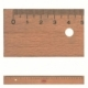 Ruler M+R Wooden 16Cm 1917 0090