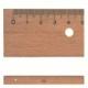 Ruler M+R Wooden 20Cm W/Metal Insert 1920 0090