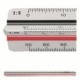 Ruler Reduction Scale M+R 1631 0010 Architect 1 2Colors