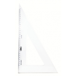 RULER TRIANGULAR SQUARE M+R 60 DEGREE 41CM 6236 0020
