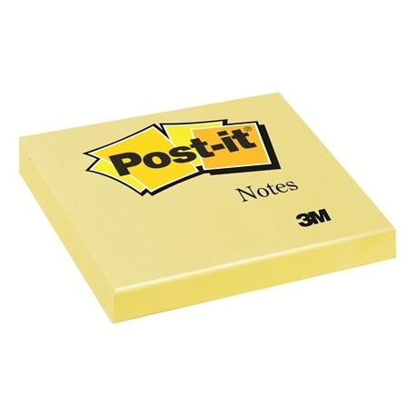 Stick Notes 3M 654 Yellow 90614 78X78