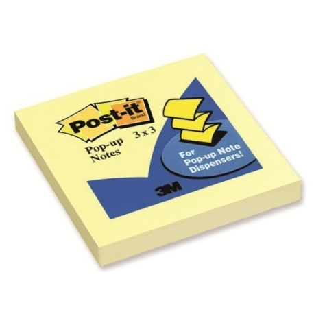 Stick Notes 3M R330 Pop Up 76X76Mm Yellow