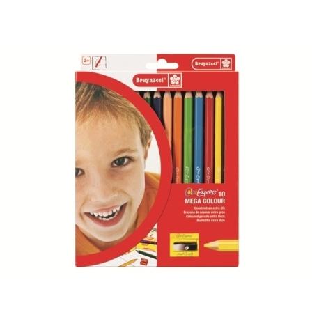 Colored Pencil Bruynzeel Mega Set 10 Colors 2105K10C