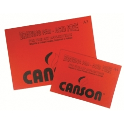 DRAWING BOOK CANSON A4 16 SHEETS 220GR LI741