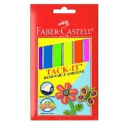 GLUE FABER-CASTELL TACK IT 50GR COLORED 187094