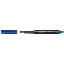 Marker Overhead Faber-Castell F Blue 151351