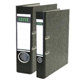 BOX FILE LEITZ CARDBOARD 1105/95 FC 5.2CM BLACK