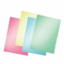 Folder Leitz 4100/15 A4 Transparent Yellow
