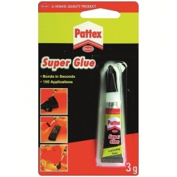 Glue Pattex Superglue 3Gr Blister 177767