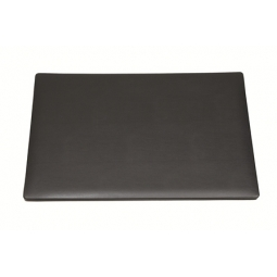 DESK PAD NOBLE DOUBLE 35X50CM 3004/101 BLACK