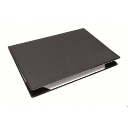 DESK PAD NOBLE DOUBLE 35X50CM 3110/101 BLACK