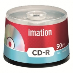 CD IMATION RECORDABLE 80MIN 700MB 52X BULK 50PCS