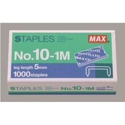 Staples Max N:10 1M 1000/Pack Ms90127