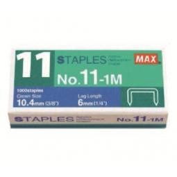 Staples Max N:11 1000/Pack Ms90080
