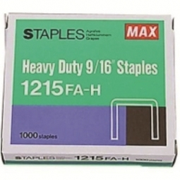 Staples Max 23/15 1000/Pack Ms92713 1215Fa-H