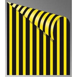 Cardboard Jansen Stripes 50X70 300G 305280.80 Black/Yellow